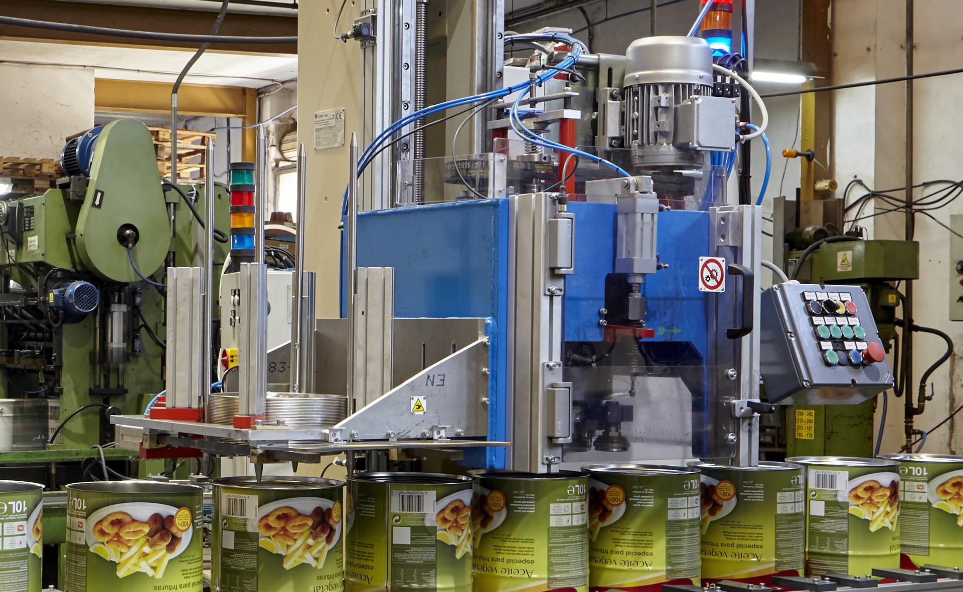 fabricantes de envases metálicos en España