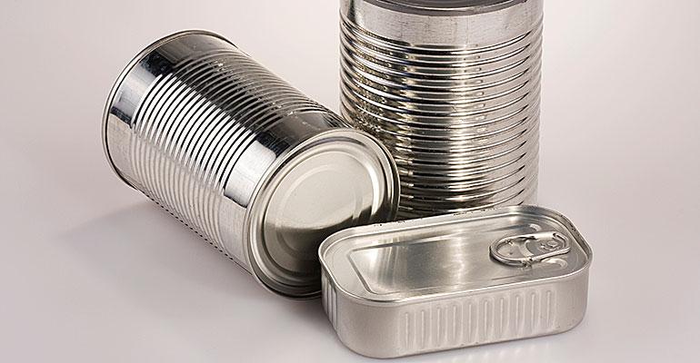 latas para envasar